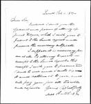 Land Grant Application- Kilgore, James (Lovell)