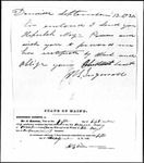 Land Grant Application- May, John (Poland)