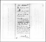 Land Grant Application- Mitchell, John (Hampton)