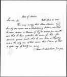 Land Grant Application- Morrison, Moses (Phippsburg)