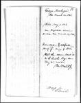 Land Grant Application- Newbegin, George (Parsonsfield)