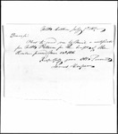Land Grant Application- Patten, Nathaniel (Penobscot)