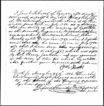 Land Grant Application- Rhoads, Moses (Waterboro)