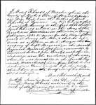 Land Grant Application- Rhoads, Jacob (Waterborough)