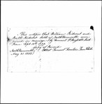 Land Grant Application- Rideout, William (Cumberland)