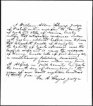 Land Grant Application- Small, Henry (Limington)