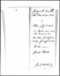 Land Grant Application- Small, Jeremiah (Westbrook)