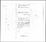 Land Grant Application- Smith, Charles (Belfast)