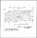 Land Grant Application- Spencer, Thomas (Limington)