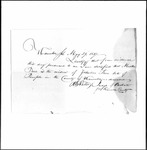 Land Grant Application- True, Zebulon (Temple)