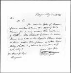 Land Grant Application- Tyler, Daniel (Brownfield)