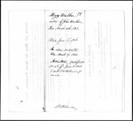 Land Grant Application- Walker, John (Anson)