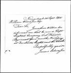 Land Grant Application- Webber, Jonathan (Kennebunk)