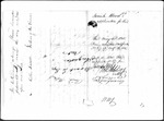 Land Grant Application- Wood, Josiah (Porter)