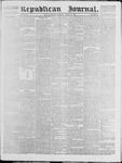 Republican Journal: Vol. 39, No. 36 - March 18,1869