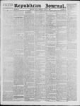 Republican Journal: Vol. 39, No. 40 - April 15,1869