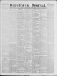 Republican Journal: Vol. 39, No. 42 - April 29,1869