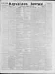 Republican Journal: Vol. 40, No. 8 - August 26,1869
