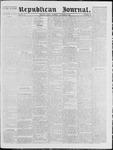Republican Journal: Vol. 40, No. 18 - November 11,1869