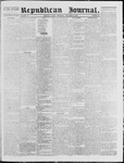 Republican Journal: Vol. 40, No. 20 - November 25,1869