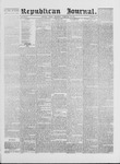 Republican Journal: Vol. 41, No. 33 - February 23,1871