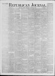Republican Journal: Vol. 41, No. 37 - March 23,1871