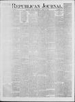 Republican Journal: Vol. 41, No. 40 - April 13,1871
