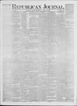 Republican Journal: Vol. 41, No. 42 - April 27,1871