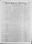 Republican Journal: Vol. 41, No. 52 - July 06,1871