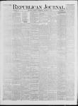 Republican Journal: Vol. 42, No. 4 - August 03,1871