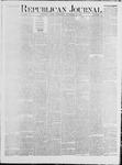 Republican Journal: Vol. 42, No. 19 - November 16,1871