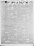 Republican Journal: Vol. 45. No. 30 - January 28,1875