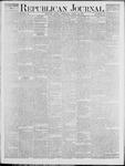 Republican Journal: Vol. 45. No. 43 - April 29,1875