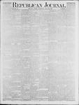 Republican Journal: Vol. 46. No. 3 - July 22,1875