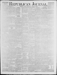 Republican Journal: Vol. 46. No. 5 - August 05,1875