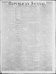 Republican Journal: Vol. 46. No. 18 - November 04,1875