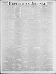 Republican Journal: Vol. 46. No. 19 - November 11,1875