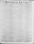 Republican Journal: Vol. 46. No. 20 - November 18,1875