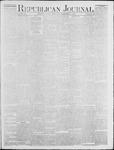 Republican Journal: Vol. 46. No. 22 - December 02,1875