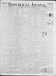 Republican Journal: Vol. 48, No. 4 - July 26,1877