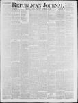 Republican Journal: Vol. 48, No. 19 - November 08,1877