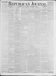 Republican Journal: Vol. 48, No. 20 - November 15,1877