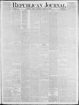 Republican Journal: Vol. 53, No. 12 - March 24,1881