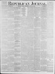 Republican Journal: Vol. 53, No. 24 - June 16,1881
