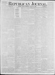 Republican Journal: Vol. 53, No. 33 - August 18,1881