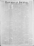 Republican Journal: Vol. 53, No. 41 - October 13,1881