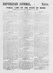 Republican Journal: Vol. 55, No. 15 - April 12,1883