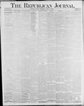 Republican Journal: Vol. 56, No. 15 - April 10,1884