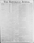 Republican Journal: Vol. 56, No. 19 - May 08,1884