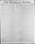 Republican Journal: Vol. 56, No. 29 - July 17,1884